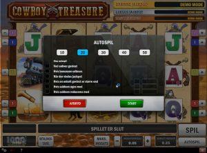 Cowboy Treasure slotmaskinen SS-04