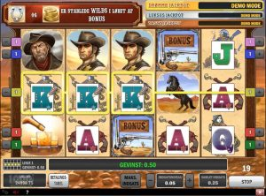 Cowboy Treasure slotmaskinen SS-08