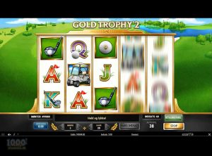 Gold Trophy 2 slotmaskinen SS-03