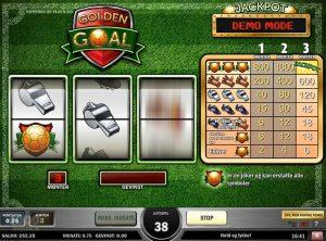 Golden Goal slotmaskinen SS-03