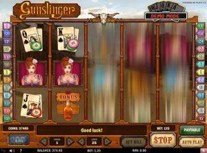 Gunslinger slotmaskinen SS-01