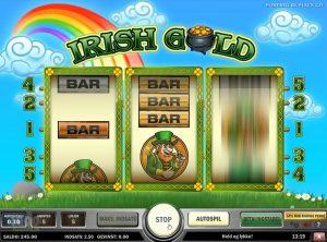 Irish Gold slotmaskinen SS-01