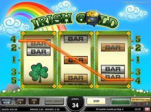Irish Gold slotmaskinen SS-03