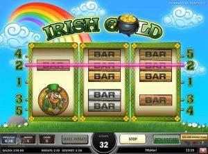 Irish Gold slotmaskinen SS-04