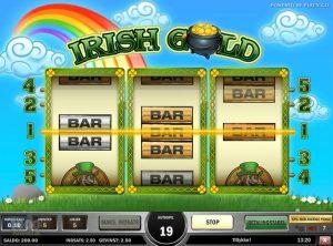 Irish Gold slotmaskinen SS-05
