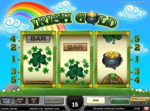 Irish Gold slotmaskinen SS-06