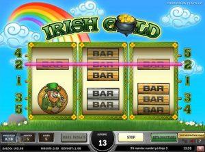 Irish Gold slotmaskinen SS-07