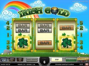 Irish Gold slotmaskinen SS-08
