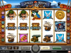Jolly Roger slotmakinen SS-07