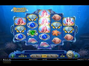 Mermaid's Diamond slotmaskinen SS-10