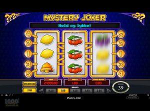Mystery Joker slotmaskinen SS-02