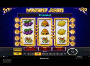 Mystery Joker slotmaskinen SS-03