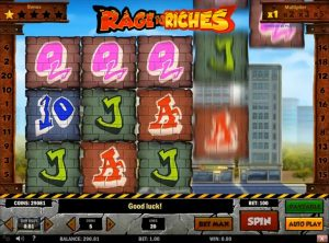 Rage to Riches slotmaskinen SS-01