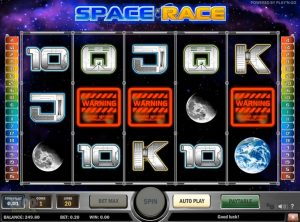 Space Race slotmaskinen SS-05