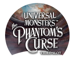 Universal Monsters The Phantoms Curse™ Slotmaskine - logo