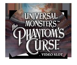 Universal Monsters The Phantoms Curse™ Slotmaskine - logo