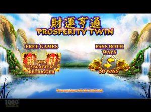 Prosperity Twin slotmaskinen SS-01
