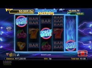 Thunderspin Jackpots slotmaskinen SS-01