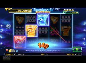 Thunderspin Jackpots slotmaskinen SS-04