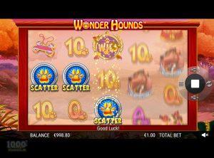 Wonder Hounds slotmaskinen SS-01