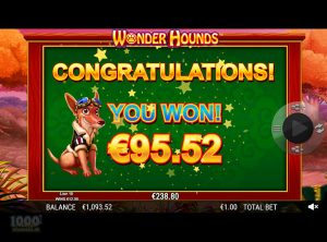 Wonder Hounds slotmaskinen SS-02
