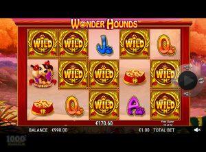 Wonder Hounds slotmaskinen SS-03