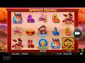 Wonder Hounds slotmaskinen SS-06