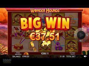 Wonder Hounds slotmaskinen SS-07