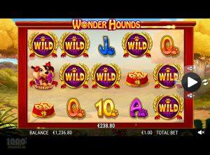 Wonder Hounds slotmaskinen SS-08