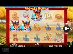 Wonder Hounds slotmaskinen SS-10