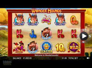 Wonder Hounds slotmaskinen SS-11