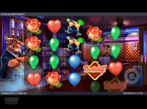 Birthday Slotmaskine - Screenshot 2