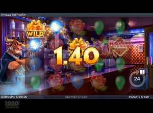 Birthday Slotmaskine - Screenshot 8