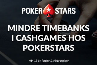 MIndre timebank hos Pokerstars i 2019