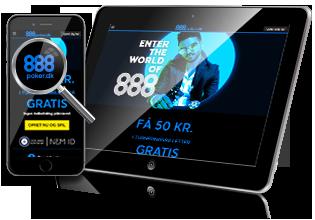 888 Poker - download app, og spil på mobilen