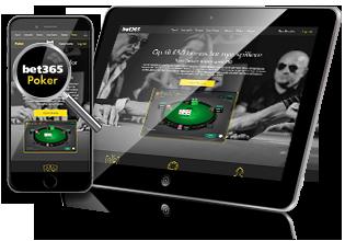 Bet365 Poker - Mobil og tablet spil