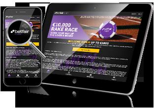 Betfair Poker - spil også på mobilen