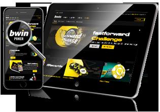 Bwin Poker - Spil på mobil og tablet via app