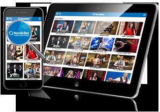 NordicBet Poker - spil på på mobilen via app