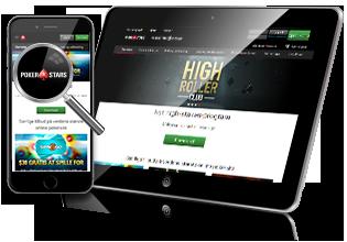 Pokerstars mobil app og tablet spil