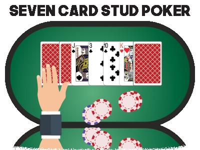 Seven Card Stud Poker - Lær reglerne